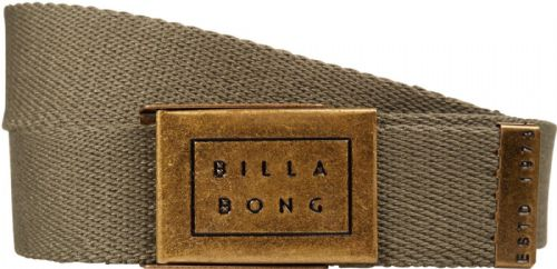 BILLABONG MENS BELT.SERGEANT ARMY GREEN ADJUSTABLE JEANS WEBBING STRAP 8W 2 176